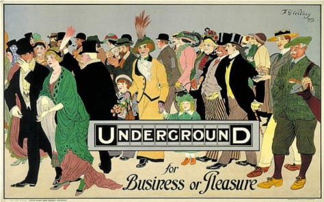 1913 Underground for Business or Pleasure
